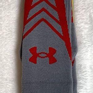 Under Armour Underwear & Socks - UNDER ARMOUR Undeniable Heat Gear Crew Gray Socks